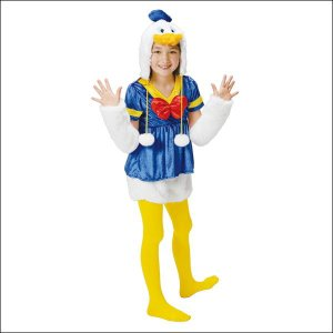 [在庫限り特価] 子供コスチューム モコモコドナルドダック Mokomoko-Collection Child Donaldy|event-ya