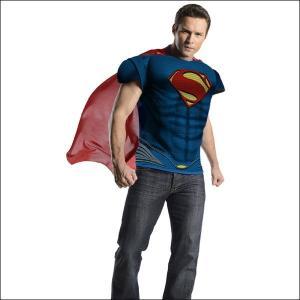 ハロウィンコスチューム マッスルチェストスーパーマン Superman Adult M/C Costume/アニメ コスプレ メンズ|event-ya