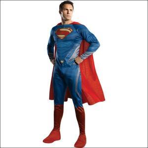 ハロウィンコスチューム H/SスーパーマンL Adult H/S Superman - L/アニメ コスプレ メンズ|event-ya