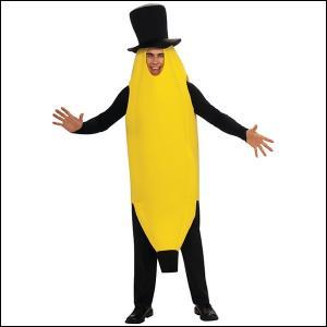 ハロウィンコスチューム 大人用バナナモストアピーリング|event-ya