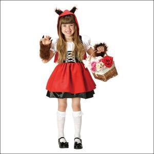 ハロウィンコスチューム 赤ずきん 子ども用 Red Riding Wolhood|event-ya