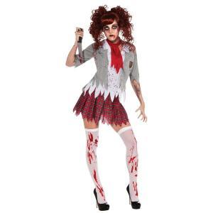 ハロウィンコスチューム ゾンビスクールガール Zombie School Girl|event-ya