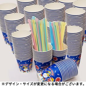 かき氷用カップ・ストロースプーンセット(500セット) 【縁日・模擬店・屋台・露店】|event-ya