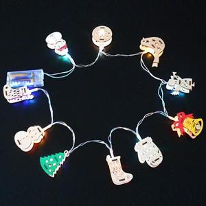 色塗りができるクリスマスオーナメント作り(LEDライト付き)|event-ya