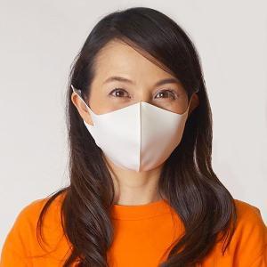 ひんやり冷感マスク(大人用) 3枚入り ホワイト / 夏用 立体マスク 洗える 耳が痛くならない クールマスク 繰り返し使える 花粉 風邪 /メール便可/動画有|event-ya