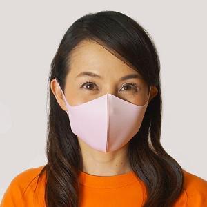 ひんやり冷感マスク(大人用) 3枚入り ピンク / 夏用 立体マスク 洗える 耳が痛くならない クールマスク 繰り返し使える 花粉 風邪 /メール便可/動画有|event-ya