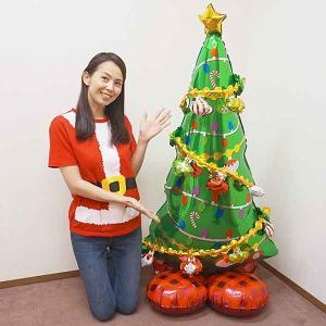 空気で自立する大きなバルーン クリスマスツリー Hcm/メール便可|event-ya
