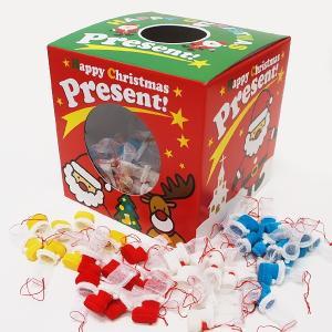 クリスマスブーツすくいどり(菓子なし)景品セット 160個|event-ya