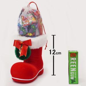 サンタお菓子ブーツ 10個 ブーツ高12cm / クリスマス プレゼント 景品 / 動画有|event-ya