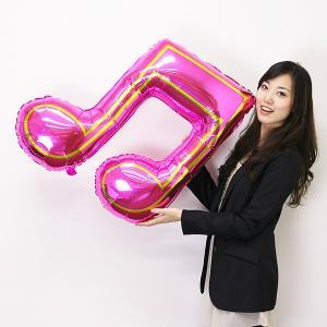 メタリック風船 ダブル音符 【バルーン】|event-ya