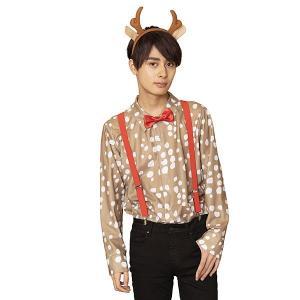 クリスマスコスチューム トナカイシャツ(ユニセックス/男女兼用)|event-ya