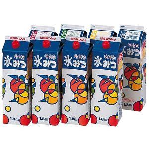 かき氷用シロップ(約400名用) 1.8L×お好み8本セット / カキ氷 氷蜜 縁日 食べ物 模擬店 夜店 お祭り|event-ya
