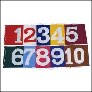等旗 1〜6番の6枚セット|event-ya
