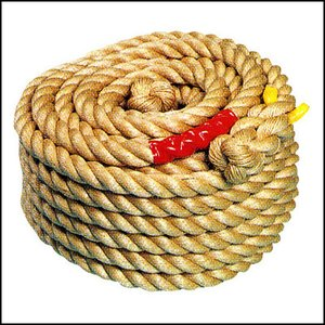 綱引きロープB(直径45mm×40m) 一般用 [動画有] [大型商品20kg以上]|event-ya