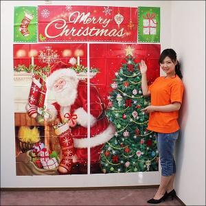 クリスマス装飾 ビニールウォールバナー(5枚セット) [動画有]|event-ya