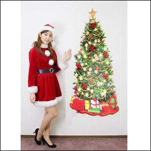 クリスマス装飾用ビニールタペストリー 【装飾・ディスプレイ・飾り】|event-ya