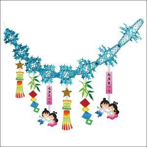七夕 織姫彦星ガーランド / 装飾 飾り ディスプレイ|event-ya