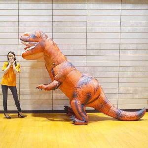 ジャンボエアブロー 巨大恐竜ティラノサウルスT−REX H250cm / 装飾 飾り エアーブロウ ディスプレイ pop/動画有|event-ya
