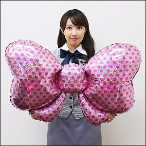 バレンタイン風船 ビッグリボン 105cm /メール便5枚まで可/|event-ya