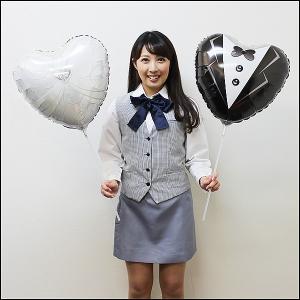 大きめスティック風船 ドレス&タキシード/ フォトプロップス|event-ya