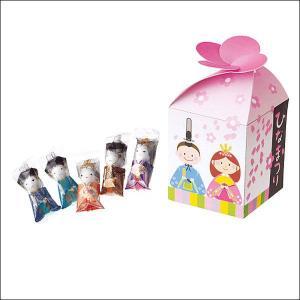 ひなまつりチョコボール(5包入) 100個 / 雛祭り お菓子 景品 粗品 プレゼント イベント|event-ya