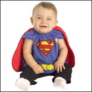 子供コスチューム スーパーマン ベビーSUPERMAN DX BIB/コスプレ キッズ|event-ya