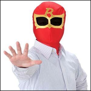 かぶりもの いつでもレンジャー レッドマスク|event-ya