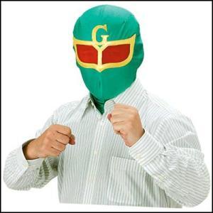 かぶりもの いつでもレンジャー グリーンマスク|event-ya