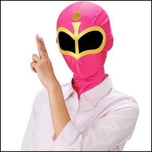 かぶりもの いつでもレンジャー ピンクマスク|event-ya