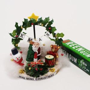 クリスマス手作り「ハウス工作キット」 ミニミニクリスマスキット そりに乗るサンタ / 動画有|event-ya