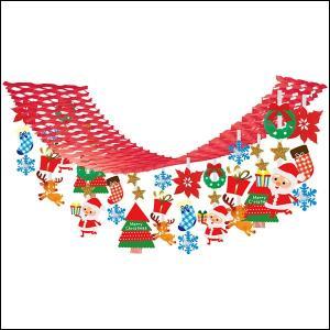 クリスマス装飾 プレゼントサンタハンガー L180cm|event-ya