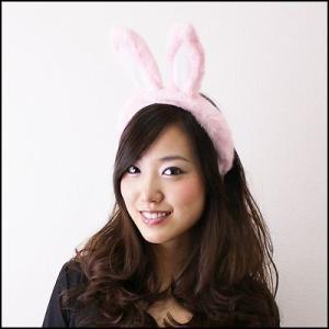 カチューシャ ピンクうさぎ|event-ya