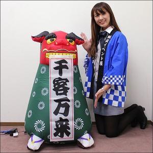 お正月装飾 ジャンボエアブロー 獅子舞 100cm/ 動画有|event-ya
