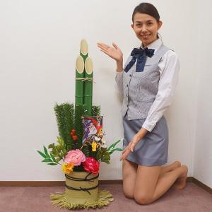 お正月装飾 かどまつ 助六凧門松 H100cm|event-ya