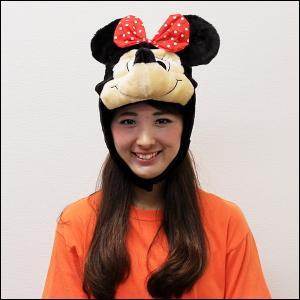 着ぐるみキャップなりきり帽子 ミニーマウス|event-ya