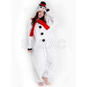 顔出し着ぐるみ スノーマン 雪だるま [クリスマス コスチューム コスプレ 衣装]|event-ya