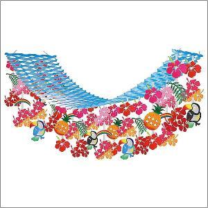 夏装飾  トロピカルパインプリーツハンガー  L180cm/ディスプレイ・装飾・飾り付け|event-ya