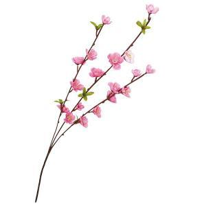 ひな祭り装飾 桃スプレイ L63cm 5本セット [雛祭り 飾り ディスプレイ]|event-ya