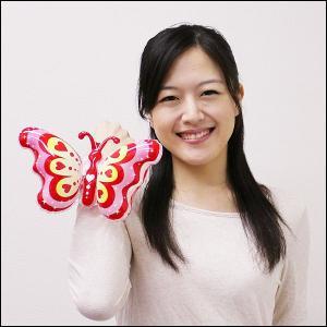 ビニール玩具の蝶々アーム 10個 5柄アソート|event-ya