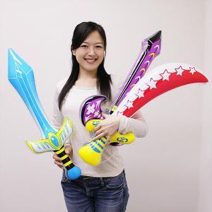 60cm〜80cm級ビニール玩具の剣 いろいろ10個+予備2個|event-ya