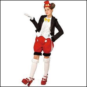 コスチューム ゴシックミッキーパンツバージョン Gothic Costume - Adult Mickey (Pants Ver.)|event-ya