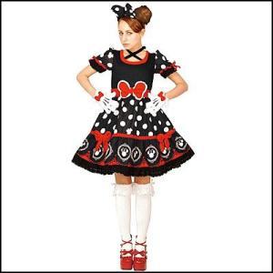 [在庫限り・特価]ハロウィンコスチューム ゴシックミニードレス黒 Gothic Costume - Adult Minnie (Black)|event-ya