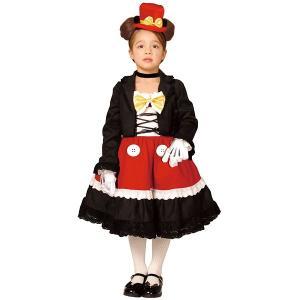 [在庫限り・特価]子供コスチューム ゴシックチャイルドミッキードレス Gothic Costume - Child Mickey|event-ya