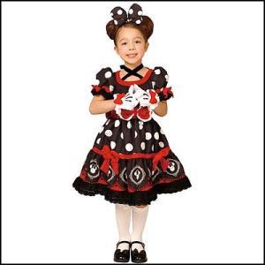 [在庫限り・特価]子供コスチューム ゴシックチャイルドミニードレス黒 Gothic Costume - Child Mickey|event-ya