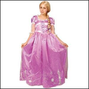 コスチューム ドレスアップ ラプンツェル Dress Up Adult Rapunzel|event-ya