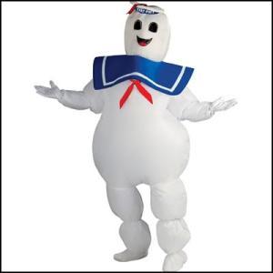 コスチューム エアー着ぐるみマシュマロマン Inflatable Stay Puft Marshmallow Man/アニメ コスプレ メンズ|event-ya