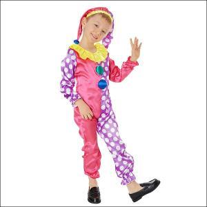 在庫限りの特価 子供用コスチューム サーカスピエロ  / 衣装・コスプレ・ハロウィン|event-ya