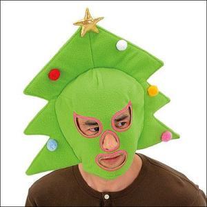 X'masツリーマスク  / クリスマス・かぶりもの・キャップ|event-ya