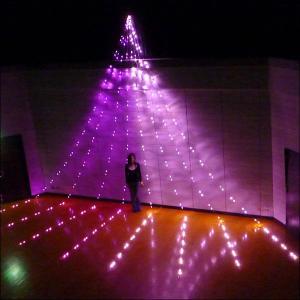 LEDイルミネーション ナイヤガラスターライト8mDX ピンク&ベビーピンク640球/ 動画有|event-ya