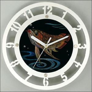 手作りメタリックガラス時計|event-ya